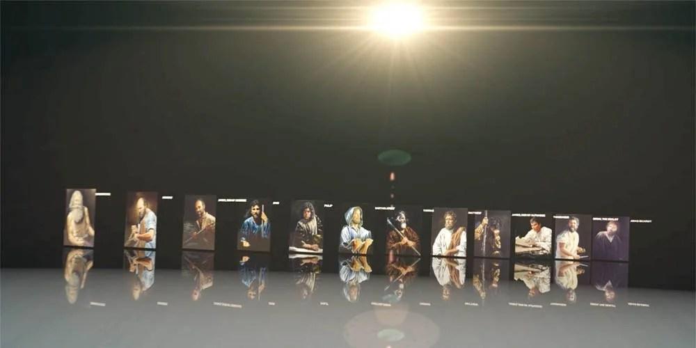 Jesus Chooses Twelve Apostles