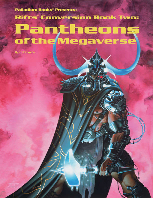 Rifts 174 Conversion Book Two Pantheons Of The Megaverse