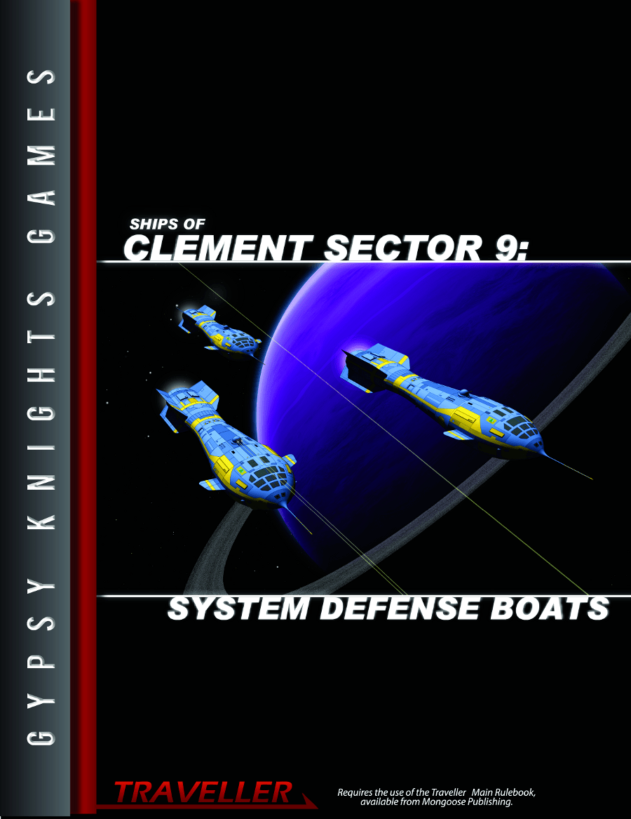 Ships of the Clement Sector 9: System Defence Boats