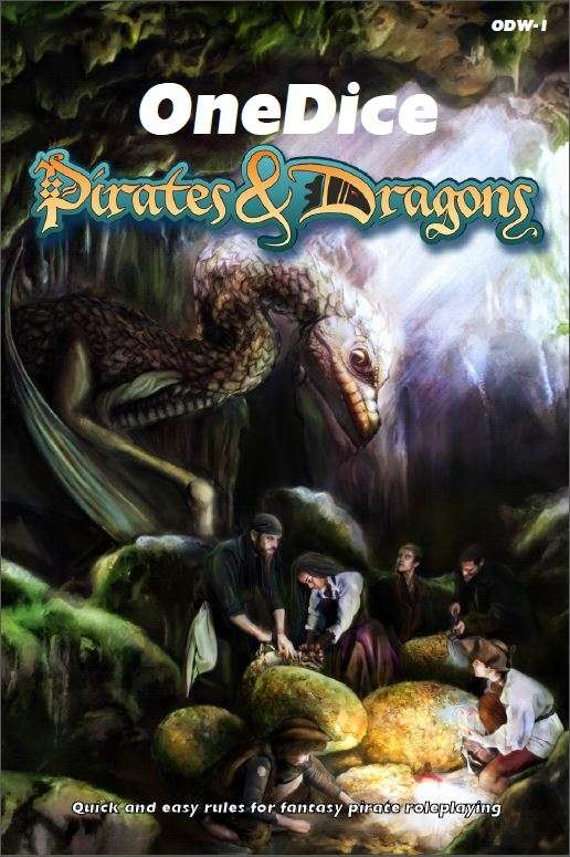 OneDice Pirates & Dragons Cover