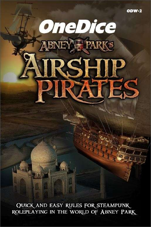 OneDice Airship Pirates Cover
