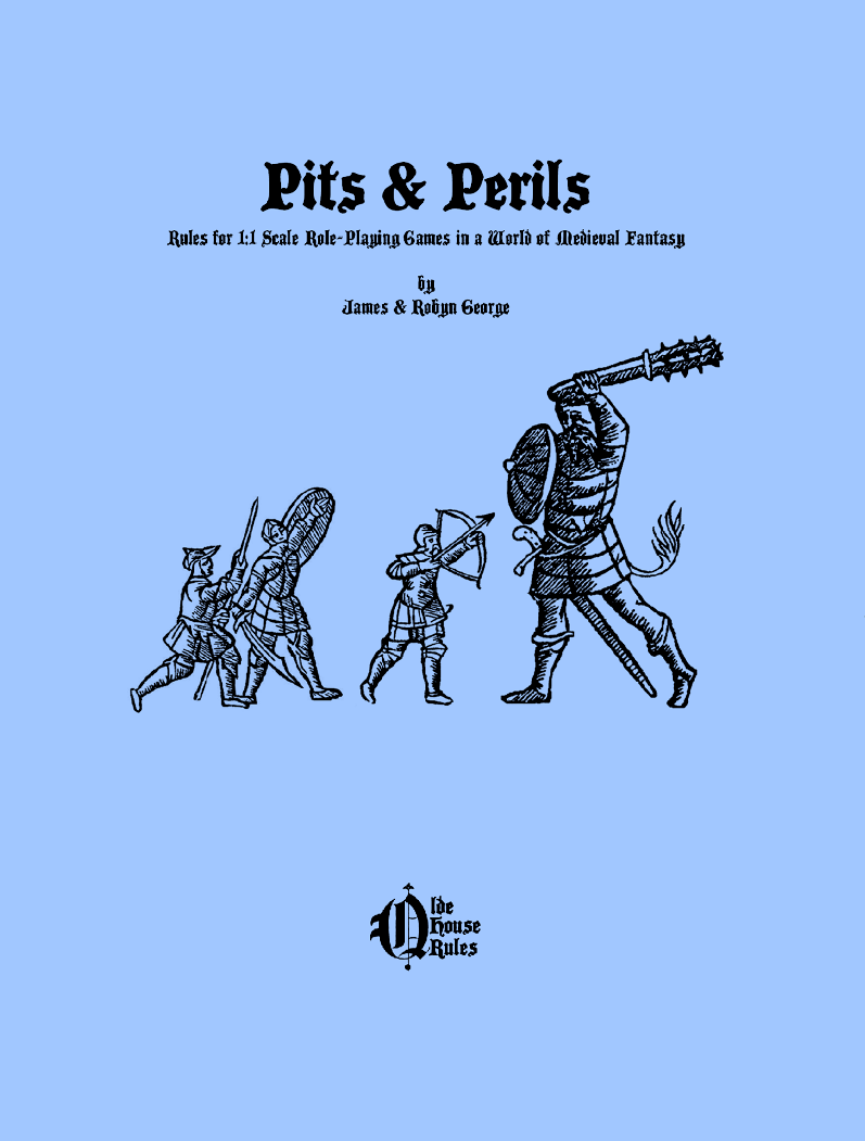 Pits & Perils Cover