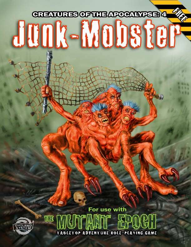 Junk Mobster Creatures Of The Apocalypse 4 Outland Arts
