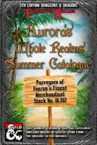 Aurora's Summer Catalogue