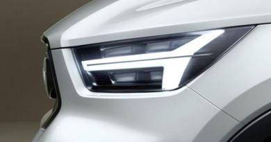 Volvo yeni 40 serisinde gelişme