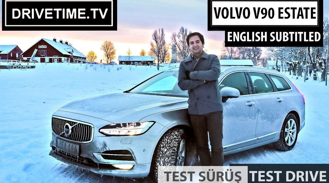 Volvo V90 Estate Inscription Test Sürüş Videosu Yayında !