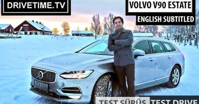 Volvo V90 Test Sürüş Videosu