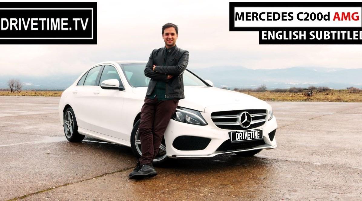Mercedes C200d AMG ( 2016) Test Sürüş Videosu Yayında !