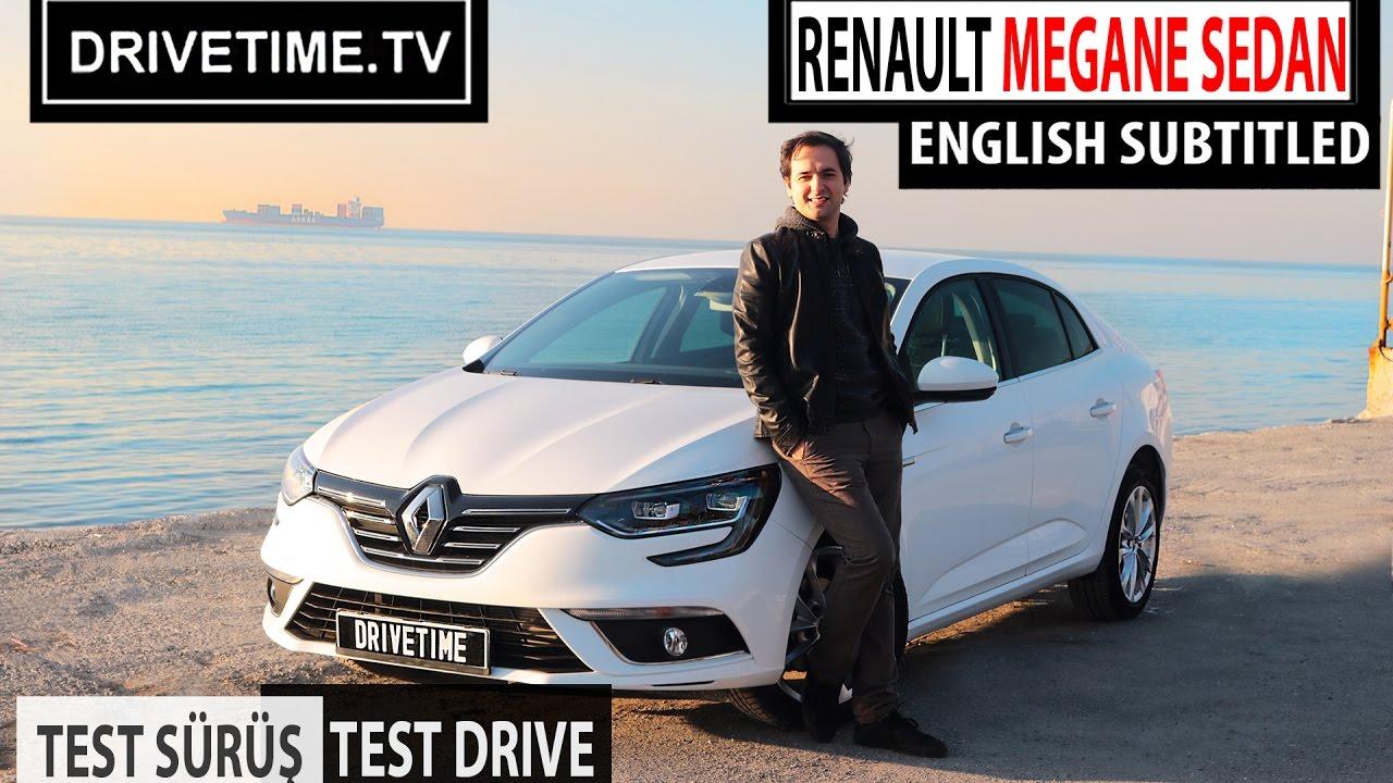 Renault Megane Sedan Test Sürüş Videosu