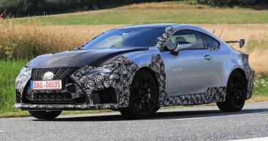 Yeni Lexus RC F Track detayları gün yüzüne çıkmaya başladı