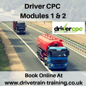 Driver CPC Modules 1 and 2 Sat 4 May 2019