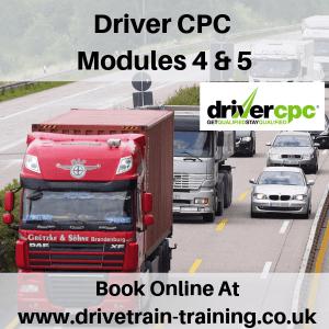 Driver CPC Modules 4 and 5 Tue 9 April 2019