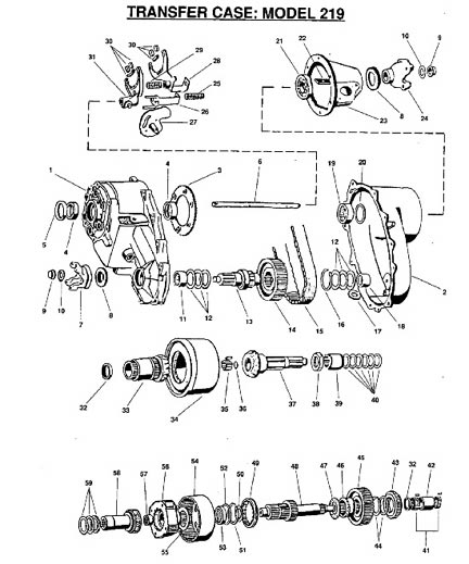 New Process 246 Transfer Case Diagram, New, Free Engine