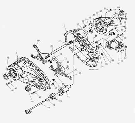 Rebuild Kit BW4406 Transfer Case and Parts plus