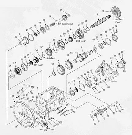 Clark Transmission Schematics