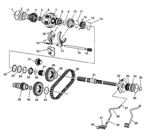 Np 246 Transfer Case Diagram, Np, Free Engine Image For
