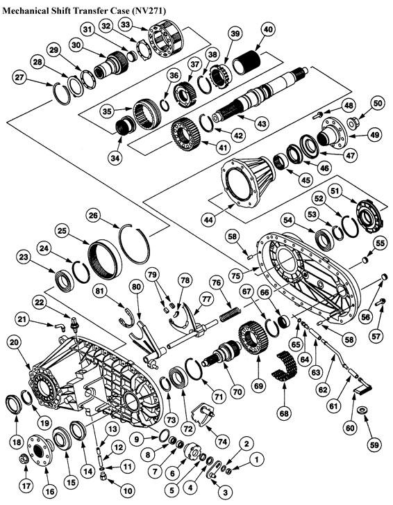Np246 Transfer Case Wiring Diagram