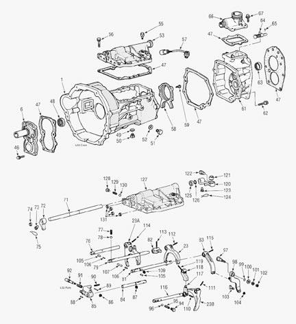 Toyota L52 5 Speed Transmission repair parts, save money