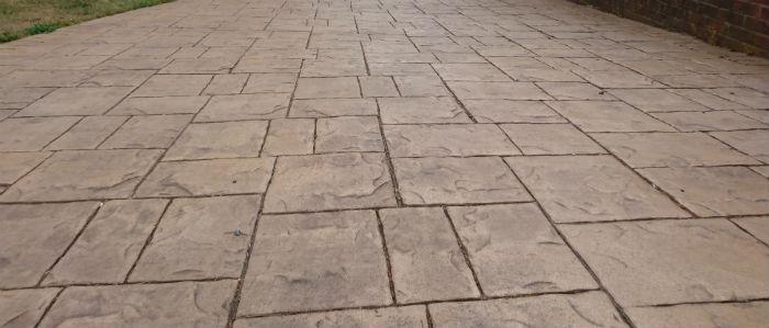 Concrete Imprinted Driveway Colour Choices