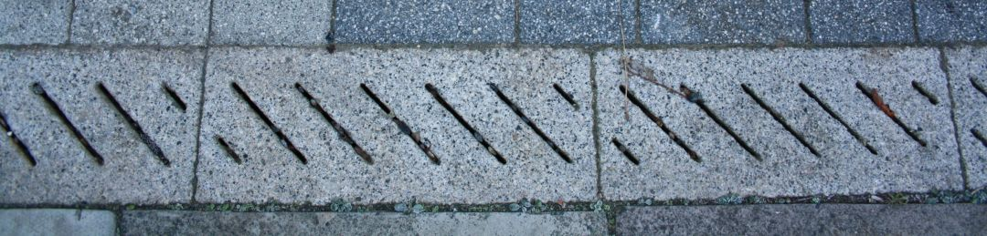 concrete drainage channel