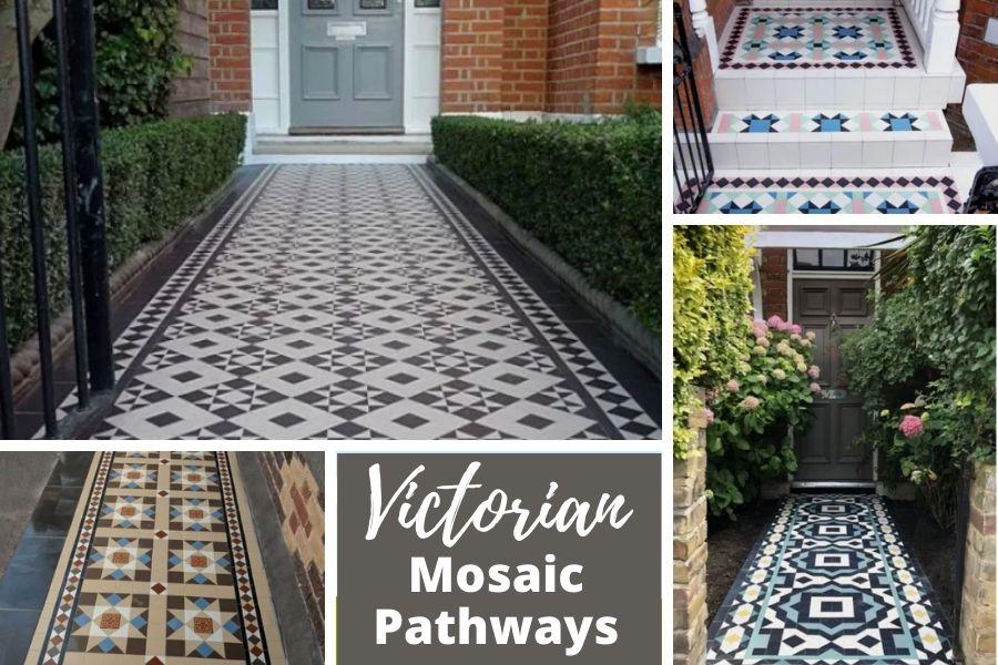 Victorian Mosaic Pathways