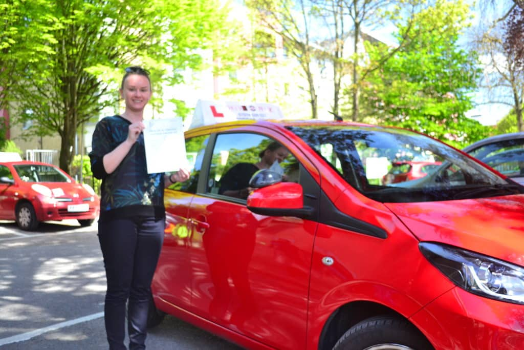 Driving lessons East Finchley Emilia passed her automatic driving test first time with Drive with Nik