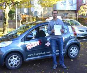 Driving Lessons Wood Green. Review from Awet who passed first time with Drive with Nik.