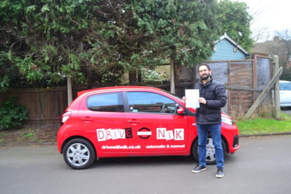 Review from Bardi who passed with Drive with Nik