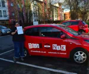 Automatic Driving Lessons Wood Green. Fiona's review.