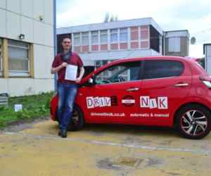 Manual Driving Lessons Tottenham. Oisin passed first time.
