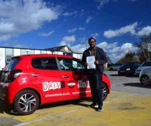 Manual Driving Lessons Palmers Green. Review from Sasi.