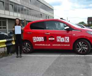 Manual Driving Lessons Arnos Grove. Karlene passed 1st time.