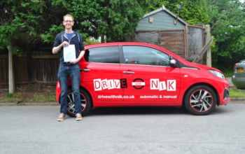 Manual Driving Lessons Wood Green. Phil's review.