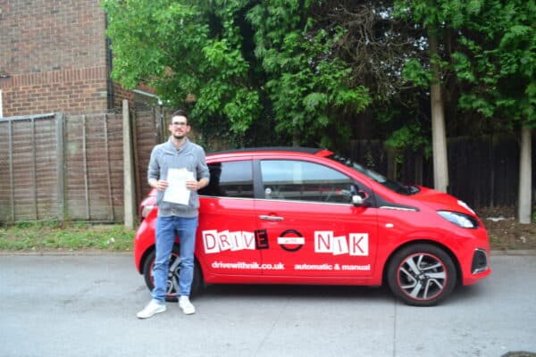 Manual Driving Lessons Crouch End. Sylvain's review.