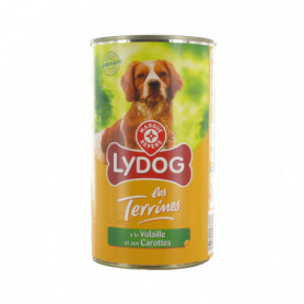 boite chiens lydog terrines volaille carotte 1240g