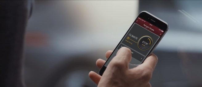 I-Pace Remote Climate
