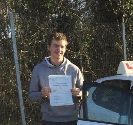driving lessons ardrossan - conor reid