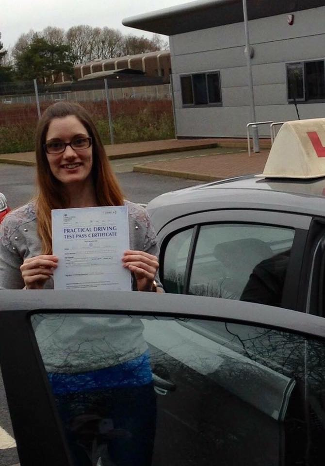 driving instructors irvine - Caroline Mackie