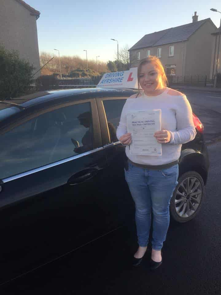 Stevenston Driving Instructors - Claire Howie