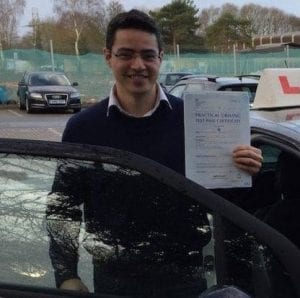 Driving Instructors Dalry - Mark Watson pass