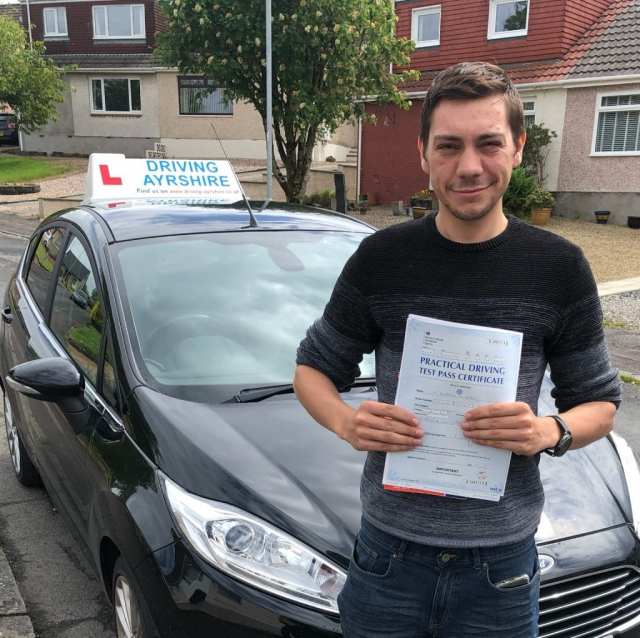 Driving Instructors Dalry - Ben Jones