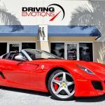 2011 Ferrari 599 Sa Aperta Sa Aperta Stock 6111 For Sale Near Lake Park Fl Fl Ferrari Dealer