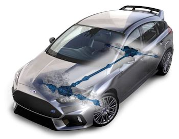 2016-Ford-Focus-RS-differential
