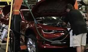 science channel how a car is built 2016 camaro