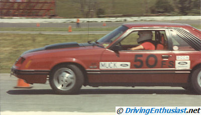 1983 Mustang GT modified for autocross