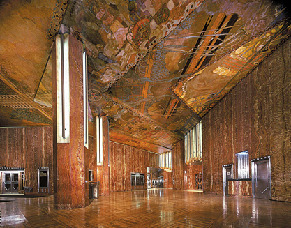 The Lobby of the Chrysler Building