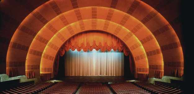 Radio City Music Hall Auditorium
