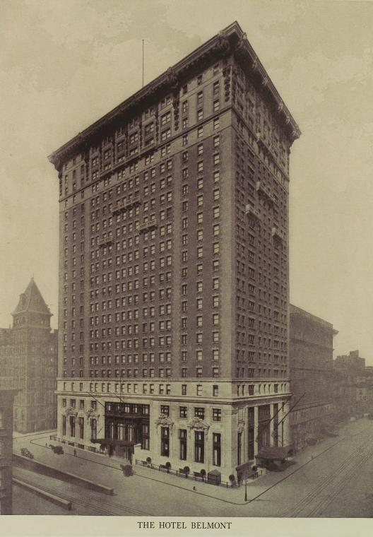 The Belmont Hotel on 42nd Street.