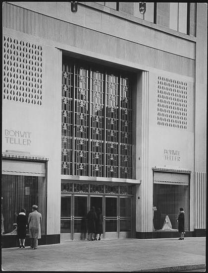 5th Avenue Entrance - Bonwit Teller