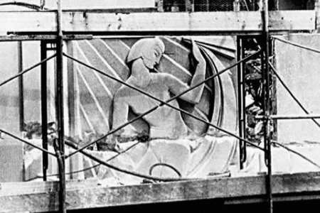 Rene Paul Chambellan relief.